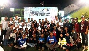 Shittong Juara dan Keseruan Basketball Kadispora Cup 2018