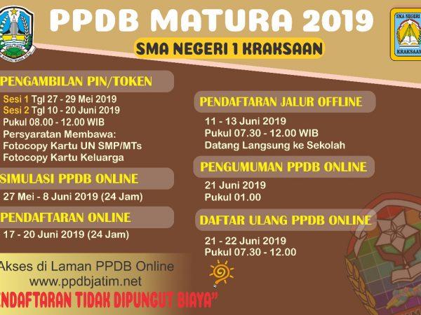 PPDB SMAN 1 KRAKSAAN TAHUN 2019