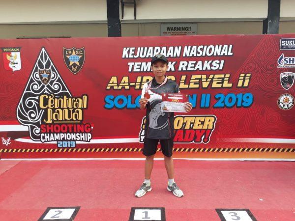 Juara 3 Lomba Tembak Kreasi Tingkat Nasional