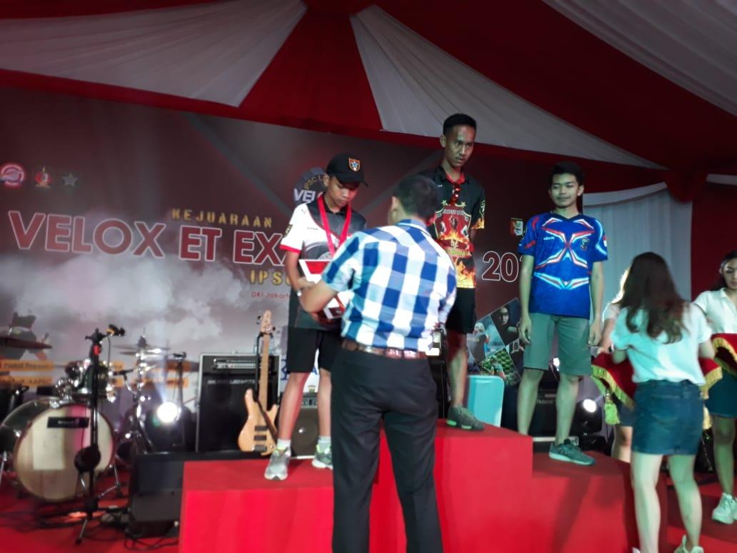 Juara 3 Kejuaraan Menembak Nasional di Tangerang